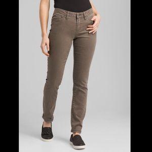 Prana Kayla Jeans Dark Mud Size 14